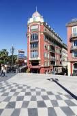 Architecture of Massena square, Nice — Stock Photo