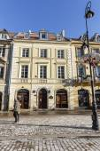 Historic townhouse in Warsaw — Stock Photo