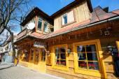 Marysin de Villa velha em Zakopane, Polónia — Fotografia Stock
