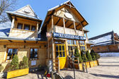 Restaurant, formerly villa Anielowka in Zakopane — Stock Photo