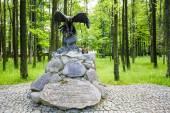 Monument to partisans in Zakopane — Stock Photo