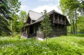 Wooden villa named Jadwiniowka I, Zakopane — Stock Photo