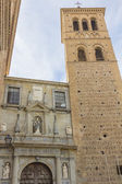 Ancient church in the city Toledo, Spain — Stock Photo