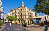 "Almeria, Spain September 1 2014: Almeria famous building ""House — Stock Photo"