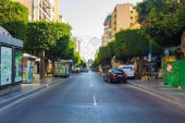 Almeria Spain September 1, 2014: modern streets and avenues of t — Stock Photo
