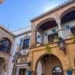 Typical houses in the tourist in the city of Cordoba, Spain — Stock Photo #61315657