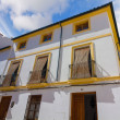 Typical whitewashed houses along the streets of the city of Cord — Stock Photo #61317347