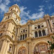 Bell tower of the Cathedral of the Incarnation in Malaga, Spain — Stock Photo #61317491