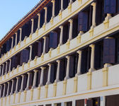 Famous Plaza de la Corredera from the year 1683 in Cordoba, Spai — Stock fotografie