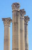 Roman columns of the second century before Christ in Cordoba, Sp — Stockfoto