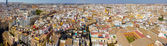 Aerial view of the city of Seville, Spain — Stock Photo