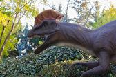 Dinosaur carnivore Coritusaurio — Stock Photo