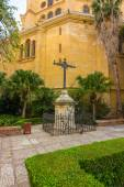Gardens of the Cathedral of Malaga, Spain — Stock Photo