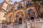 Cathedral of the Incarnation in Malaga, Spain — Stock Photo