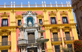 Episcopal palace in the city of Malaga, Spain — Stockfoto