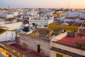 Homes in beautiful dawn in the city of Jerez de la frontera Cadi — ストック写真