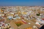 Luftbild der Stadt von Sevilla, Spanien — Stockfoto