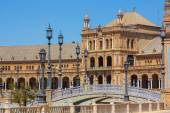 Famous Plaza of Spain in Seville, Spain — Stock Photo