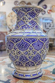 Hand painted Moroccan vase — Stock Photo