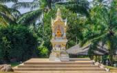 Buddhist altar in Krabi Thailand — Stock Photo
