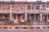 Malaysian houses in Penang — Stock Photo