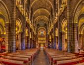 Saint Nicholas Cathedral in Monaco Ville — Stock Photo