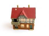 ミニチュアおもちゃの家. — ストック写真