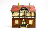 Miniature toy house. — Stock Photo