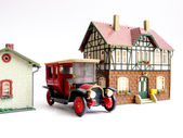 Miniature toy house. — Stock Photo