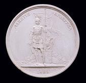 Plaster Medal. — Stock Photo