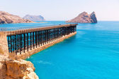 Aguilas Embarcadero el Hornillo pier Murcia Spain — Stock Photo