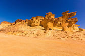 Bolnuevo Mazarron eroded sandstones Murcia — Stock Photo