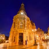 Ayuntamiento de Cartagena Murciacity hall Spain — Stock Photo