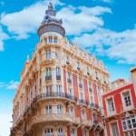 Cartagena Gran Hotel Art Noveau in Murcia Spain — Stock Photo #54581755