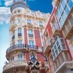 Cartagena Gran Hotel Art Noveau in Murcia Spain — Stock Photo #54581817
