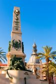 Cartagena Murcia Cavite heroes memorial Spain — Stock Photo