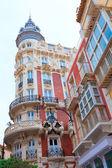 Cartagena gran hotel art nouveau w murcia, hiszpania — Zdjęcie stockowe