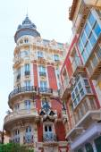 Cartagena Gran Hotel Art Noveau in Murcia Spain — Foto Stock