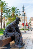 Cartagena Marinero de Reemplazo memorial Spain — Stockfoto