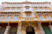 Cartagena modernist buildings in Murcia Spain — Stock Photo