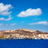 Cartagena skyline Murcia at Mediterranean Spain — Stockfoto