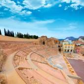 Cartagena Roman Amphitheater in Murcia Spain — Stock Photo