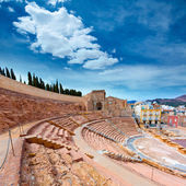 Cartagena Roman Amphitheater in Murcia Spain — Stockfoto