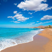 La Azohia beach Murcia in Mediterranean Spain — Stock Photo