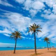 Playa Paraiso beach in Manga Mar Menor Murcia — Stock Photo #54590237
