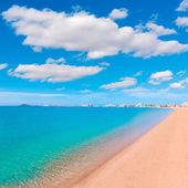 Playa Paraiso beach in Manga Mar Menor Murcia — Stock Photo