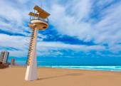 La Manga del Mar Menor beach in Murcia Spain — Stock Photo