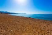 Mazarron beach in Murcia Spain at Mediterranean — Stock Photo