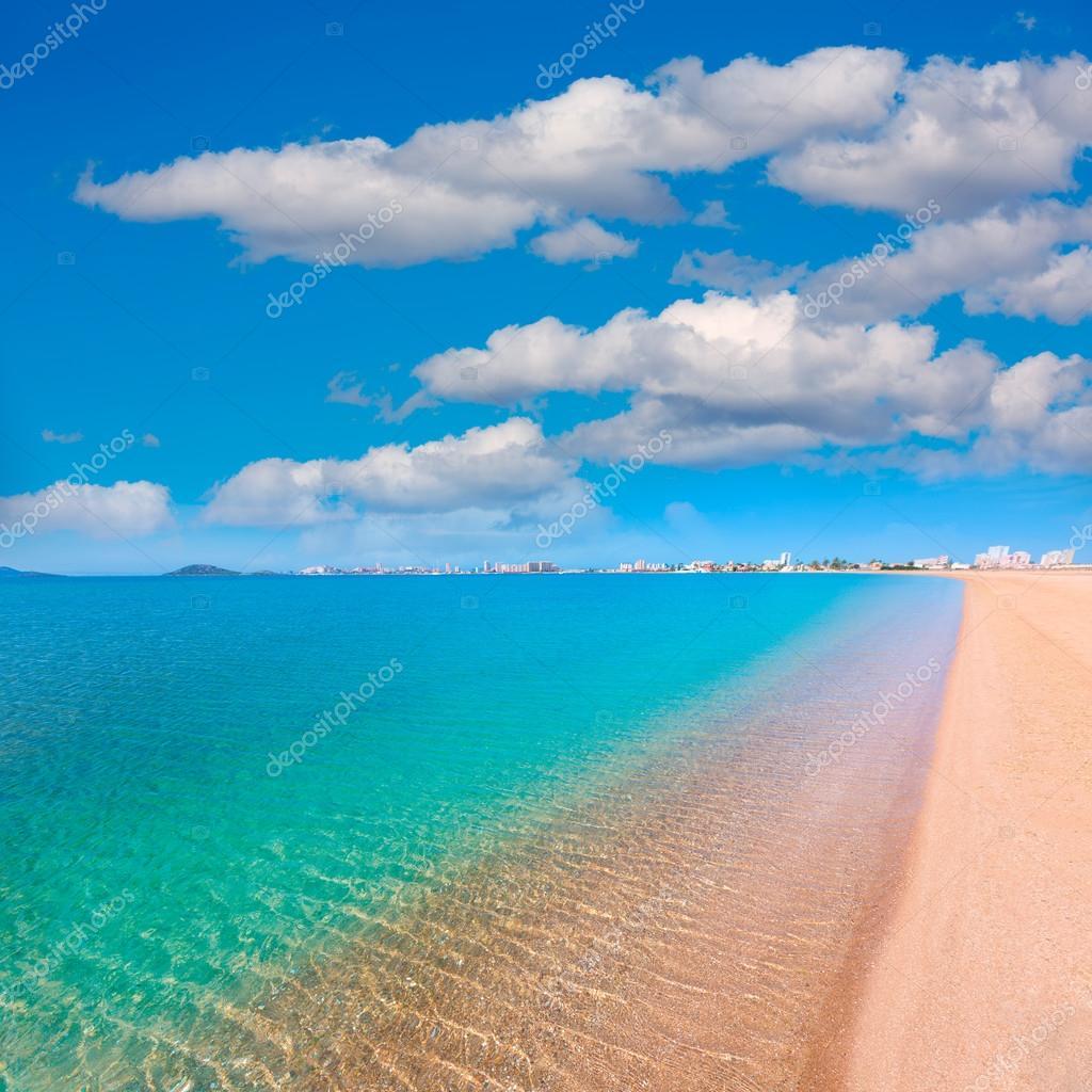Camping A La Manga Espagne: Playa Paraiso Plage De Manga Mar Menor Murcia
