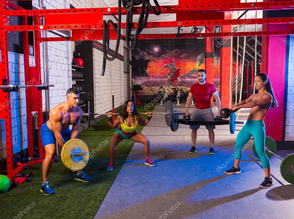 Фото девушек занимающиеся тяжелой атлетикой